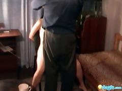 weird russian sex with crazy old vet