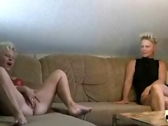 2 matures doing it is with a youthful cock by