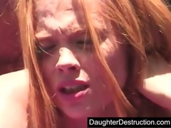 youthful daughter fucked hard