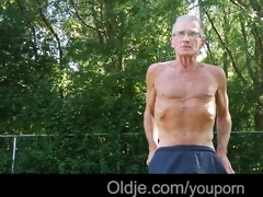 retired grandad receives laid with a very young