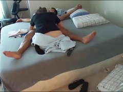 hidden camera captures amateur couple fuck