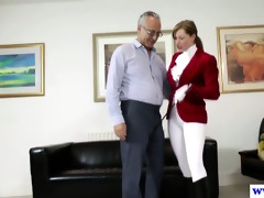 juvenile euro bitch pussydrilled by old man
